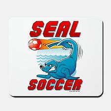 Seal Soccer Mousepad