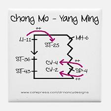 Chong Mo - Yang Ming Tile Coaster