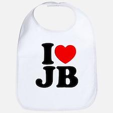 I Love Jam Bands Baby Bib