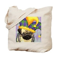 Party Pug Tote Bag