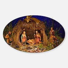 Nativity scene Decal