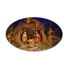 Nativity scene Decal Wall Sticker