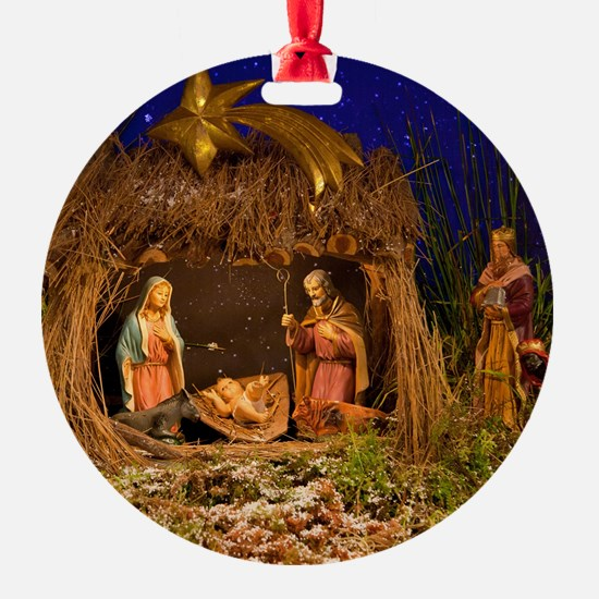 Nativity scene Ornament