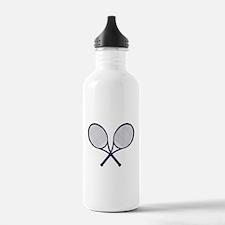Crossed Rackets Silhou Sports Water Bottle