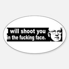 Dick Cheney Oval Decal
