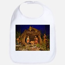 Nativity scene Baby Bib