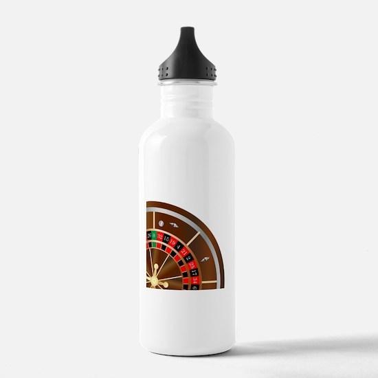 Roulette Wheel Spin Water Bottle