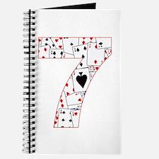 Number Seven Cards Journal
