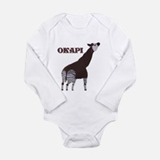 Okapi Painting Infant Creeper Body Suit