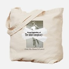Adult Conspiracy Tote Bag