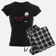 Wine Classy People Pajamas