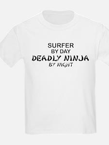 Surfer Deadly Ninja T-Shirt