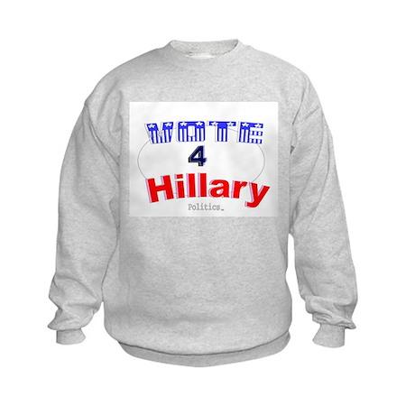 Vote 4 Hillary Kids Sweatshirt