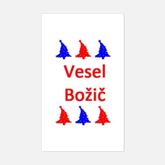 vesel bozic Sticker (Rectangle)