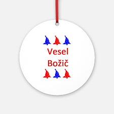 vesel bozic Round Ornament