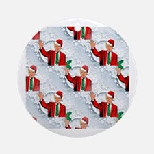 Cute Merry christmas Round Ornament