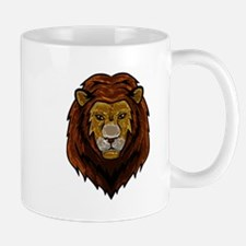 Metallic Lion Mugs