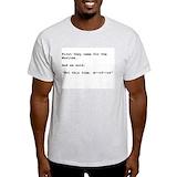 Muslim religion Mens Light T-shirts