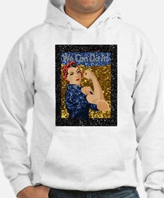 glitter rosie the riveter Sweatshirt