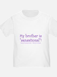 Sensational Brother - purple T-Shirt