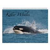 Orca whale Wall Calendars