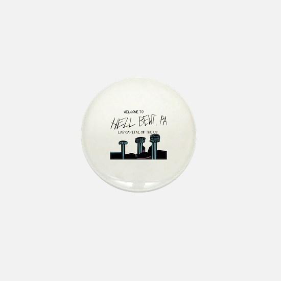 Cute Bent Mini Button