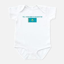 YES I HAVE BEEN TO KAZAKHSTAN Infant Bodysuit