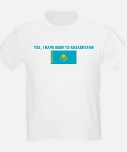 YES I HAVE BEEN TO KAZAKHSTAN T-Shirt