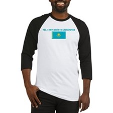 YES I HAVE BEEN TO KAZAKHSTAN Baseball Jersey
