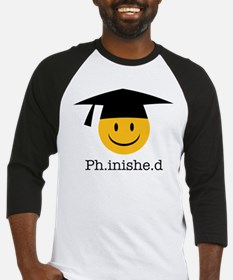 phd smiley Baseball Jersey
