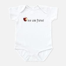 eve was framed Infant Bodysuit