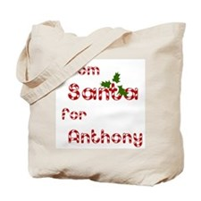 From Santa For Anthony Tote Bag