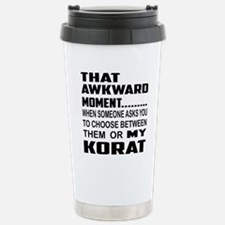 That awkward moment... Travel Mug