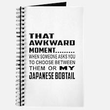 That awkward moment... Japanese Bobtail ca Journal
