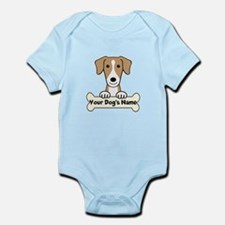 Personalized American Foxhound Infant Bodysuit
