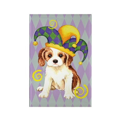 Party Cavalier Rectangle Magnet