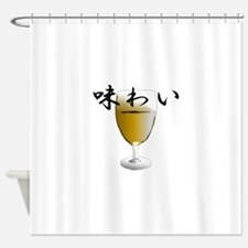 flavor T-shirt Shower Curtain