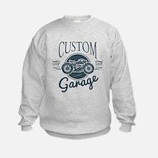 Custom Bike Garage Design for t-shirt p Sweatshirt