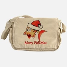 Cute Fish Messenger Bag
