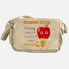 ORANGE JUICE Messenger Bag