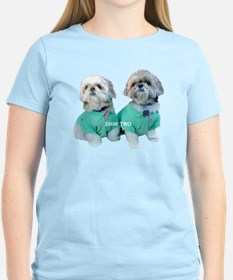 Shih Two Shih Tzu T-Shirt