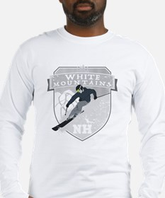 Ski White Mountains Long Sleeve T-Shirt