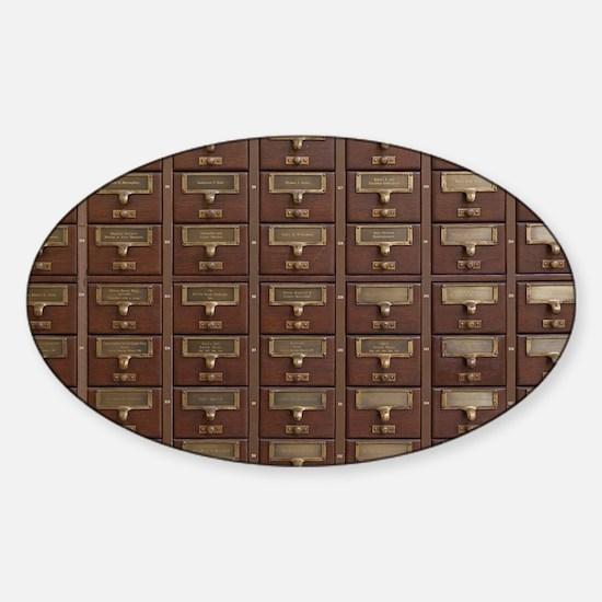 Cute Furniture Sticker (Oval)
