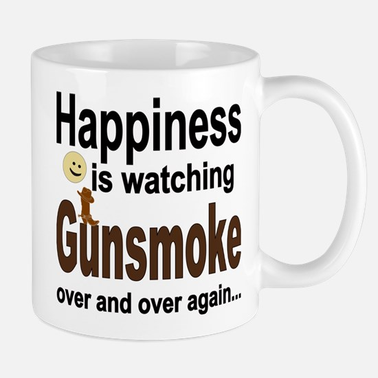 Happiness Is Watching Gunsmoke Mugs