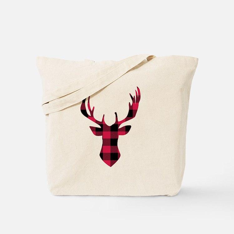 Cute Plaid Tote Bag