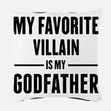 My Favorite Villain Is My Godfather Woven Throw Pi