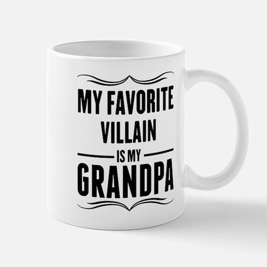 My Favorite Villain Is My Grandpa Mugs