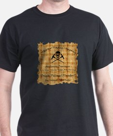 Drink Pillage Plunder! T-Shirt