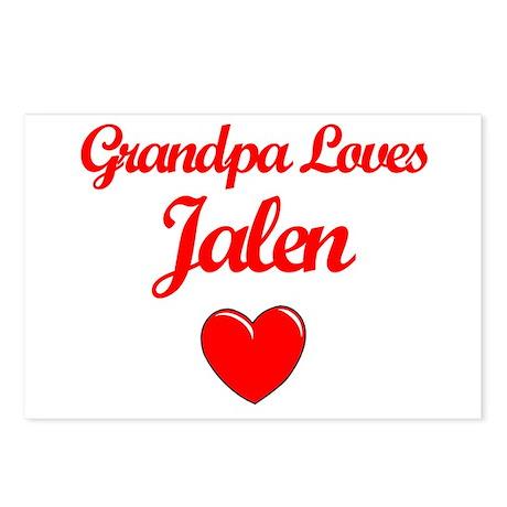 Grandpa Loves Jalen Postcards (Package of 8)