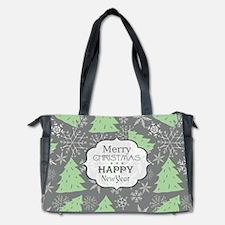 Christmas Pattern Diaper Bag